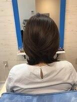 スローライフヘアーデザインアンドスパラウンジ(Slow life Hair design spa lounge)ミディアムレイヤー