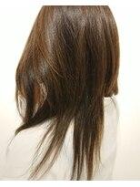 ヘアーリゾートラシックアールプラス(hair resort lachiq R+)《R+》ストレートレイヤー☆マロンアッシュ