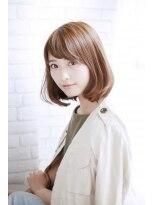シュシュット(chouchoute)美髪デジタルパーマ/バレイヤージュノーブル/クラシカルロブ/909