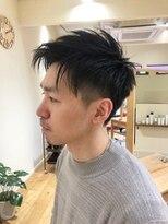 カフーヘアー スパ メイク(kafuu hair spa make)メリハリメンズスタイル