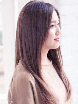 ヴェリーヘアメイク(VERY Hair Make)の写真/ダメージレスな薬剤を使用◎くせ毛もまとまらない髪も【VERY Hair Make】の髪質改善MENUで解決します◇