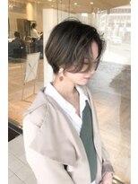 ヘアメイク シュシュ(Hair make chou chou)ショートパーマ黒髪ハイライトカラー大人かわいい20代30代