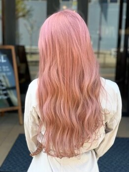 ヘアーサロン ミル(hair salon MiL)の写真/女性らしく、可愛らしい髪色を提案♪スタイリストが、一人一人に似合うカラーを提案します☆