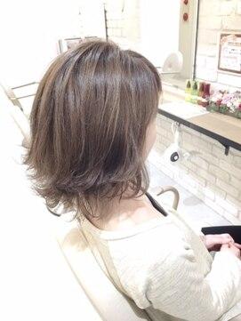 ブレッザヘアー(Brezza hair)ミディアム×外ハネ×Brezza hair 笹塚
