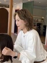 アグ ヘアー ブランシェ 松阪店(Agu hair blanche)三好 佳恵