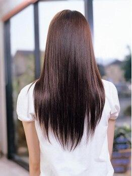 ボピープ(Bo-Peep)の写真/不純物を取り除く[新感覚★デトックス縮毛矯正]生まれ変わったかのような《柔らかい×サラ艶》な素髪に!