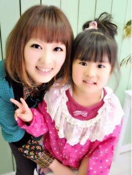 パワーオブヘアーセイカ(Power of Hair Seika)の写真/「いつでも可愛いママでいてね♪」頑張る主婦&ママを応援☆大好評!4つの平日限定コース!キッズスペ-ス◎