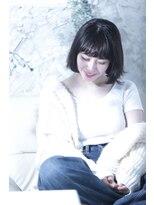 オゥルージュ(Au-rouge noma)【aurouge noma 柳瀬香里】小顔◎カジュアルボブ