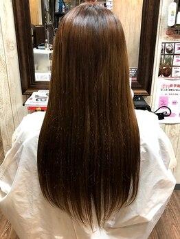 美容室 スタンド(Stand)の写真/【千本中立売】髪質を改善する[酸熱トリートメント]で髪のお悩みを解決!あなたの理想のうるツヤ髪が叶う◎