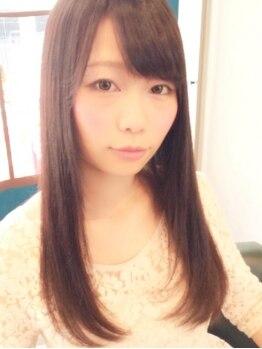 クレールヘア(Clair Hair)の写真/広島駅チカ☆乾燥しがちな髪を優しく保湿する【エイジングストレート】潤いで満たし健康的な髪へと導く♪