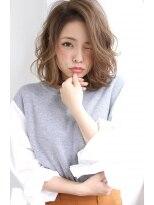 【Rose/茨木】伸ばしかけの方にも×無造作ラフカールミディ★★