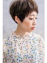 たさわ堂Amoベリーショート◆大人かわいい◆アッシュ◆柔らかい雰囲気◆暗髪