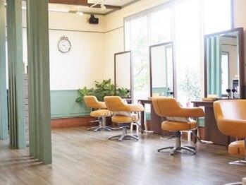 ヘアーサロン ホーム(Hair Salon HOME)の写真/緊張せずにくつろげる雰囲気が大人気☆4席のみのプライベートサロンであなただけのワンランク上のstyleへ。