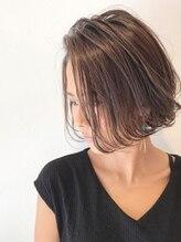 ロッカ ヘアーイノベーション(rocca hair innovation)かきあげ前髪で強さと儚さを合わせた大人ボブ[夏/稲毛/稲毛駅]