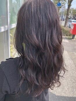 リリィ(LILY)の写真/【人気No.1★似合わせカット+カラー¥11000】あなたに似合う絶品カラーをチョイス!髪から春を取り入れて♪