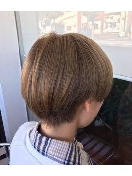 リミックス 飯塚店(Remix)ショートマッシュ