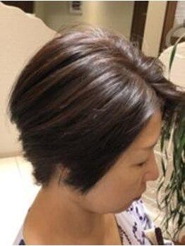 ネクサス ガーデン 船橋日大前駅店(NEXUS-Garden)の写真/カラーによるパサつき・気になる白髪のカバーもツヤ髪に仕上げます♪ツヤ髪カラーを体感して下さい!