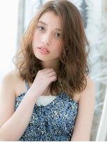 ■外国人風ニュアンスカラー小顔セミディ104-3越谷20代30代40代