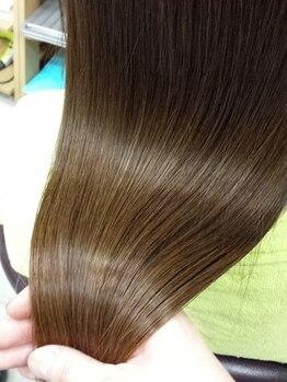 ヘアースペーストワ(Hair Space 108)の写真/本気で美髪になりたい方にこそお勧め!トワだから体験できるヘアケアマイスターによる職人技トリ-トメント☆