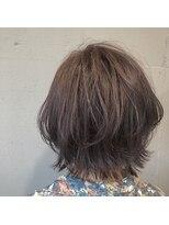 アルマヘアー(Alma hair by murasaki)いつもよりお洒落感アップのマッシュボブ