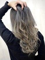 ソース ヘア アトリエ(Source hair atelier)【SOURCE】グレージュバレイヤージュ
