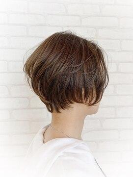 ビス ヘア アンド ビューティー 西新井店(Vis Hair&Beauty)大人可愛い/ナチュラル/ショートボブ/ボブ/ハンサムショート
