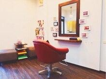 ヘア デザイン クリニック アンテナ(hair design clinic ANTENNA)の雰囲気(ふかふかのチェアで夢心地♪)