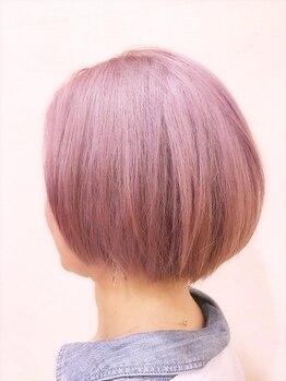 レヴェヘアプラス(rever hair)の写真/[レクレビル2F]デザインコンテストで受賞◎凄腕スタイリストによる人気のイルミナカラーでオシャレhairに