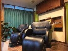 ランプ ヘアルーム(Lamp Hair Room)の雰囲気(気持ち良いシャンプーに癒されて…♪)