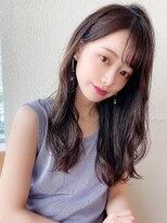 アフロート斎藤 20代30代Aラインロング小顔前髪似合わせカット