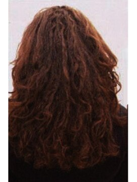 縮毛矯正専門店 ヘアーデザインリンク 八王子(Hair Design Link)ダメージ改善縮毛矯正『BEFORE』
