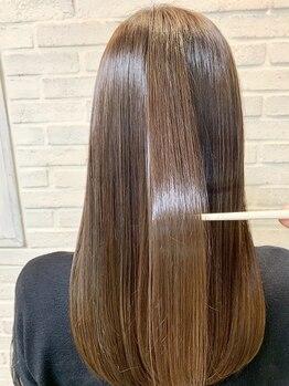 レックス ヴァレオ(ReX VALEO)の写真/【上新庄】《サイエンスアクア》で髪質改善★ヘアービューザーシリーズ全完備でダメージレス♪