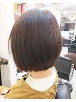 ショコラ アン 横須賀中央収まりのいいシンプルな小顔ボブスタイル