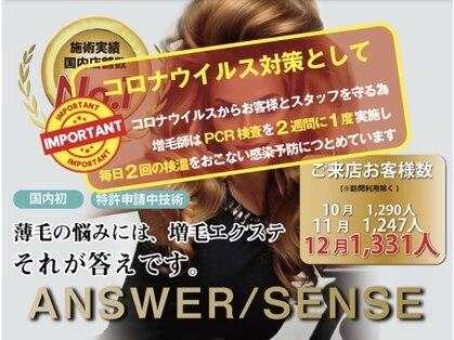 増毛エクステ専門店 SENSE by plushair 【センスバイプラスヘアー】