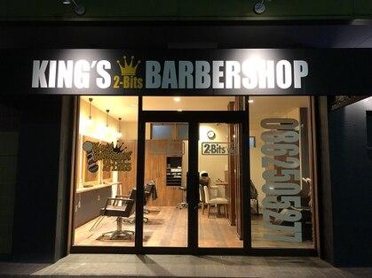 キングズバーバーショップ ツービッツ(King's Barbershop 2-bits)の写真