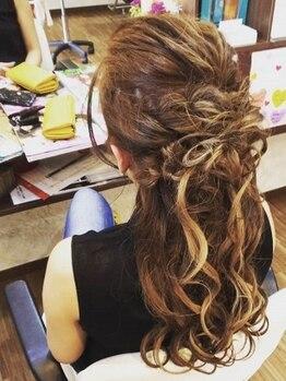 アスクグロース(ask growth)の写真/結婚式/二次会/ライブ/デート/TPOに合わせてご提案◎豊富なヘアアレンジで可愛いスタイルへ♪