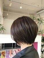 ディーバ ヘアーデザイン(Diva Hair Design)クール系ショートボブ