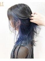 アドゥーヘアー(A do hair)ash × blue