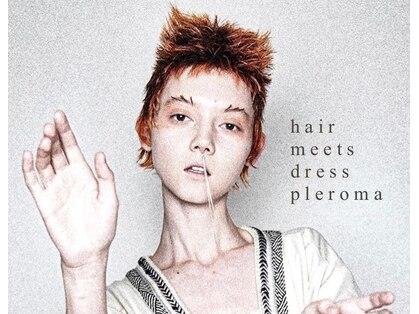 ヘア ミーツ ドレス プレローマ(HAIR meets dress pleroma)の写真