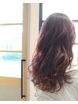 テオ ヘア(teo hair)ロング×ラフウェーブ