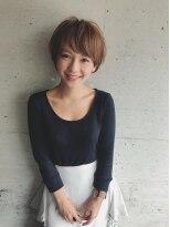 ジジ(Gigi)【Gigi】ラフで大人可愛いショートスタイル 五島夕夏