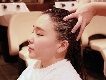 サエラデモードの写真/美しい髪は、健やかな地肌から!極上ヘッドスパで、髪も心もリフレッシュ☆日常の疲れを癒しませんか?