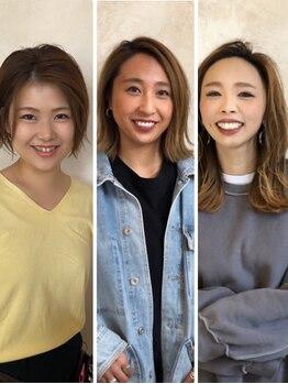 イデー ヘアサロン(idee Hair Salon)の写真/【女性視点での提案に定評あり♪】日常生活の中でも、ちょっとしたオシャレを楽しみたい方に◎