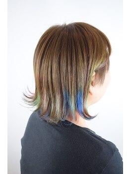 ヘアーシーク(HAIR chic)の写真/肌色・季節・雰囲気・トレンドなど見極めたカラーがHAIR chicで見つかる!
