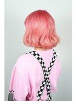 pastel salmon pink