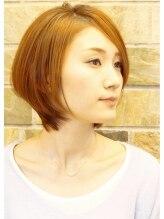 グロッシーヘア(GLOSSY HAIR)short bob