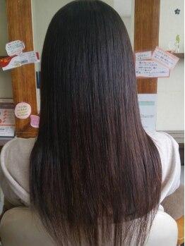 ハレヘアー 583(Hare Hair)の写真/毎朝のブローの時間が半分以下に!!気になるクセを部分からスッキリ解消♪理想のスタイルを叶えます!