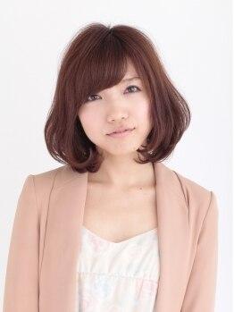 セレクトタカミ(select TAKAMI)の写真/傷んだ髪こそカラーがお勧め!!頭皮と同じ弱酸性の成分で染めるから、傷みを抑えてツヤツヤな手触りに☆