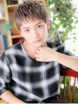 *+bliss浦和+*… ハイトーンの束感マッシュc