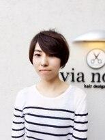 ビアノバ(via nova)お手入れが楽なショートスタイル